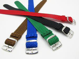 Blue Nato Style Nylon Watch Strap w/ Tang Buckle - Strapholic_錶帶工房, Rolex, IWC, Panerai, AP, Cartier, Tudor, Omega, Watch_Bands