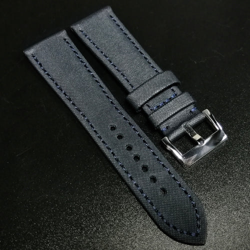 Blancpain Style Blue Calf Leather Watch Strap - Strapholic_錶帶工房, Rolex, IWC, Panerai, AP, Cartier, Tudor, Omega, Watch_Bands