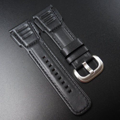 SevenFriday Style Black Calf Leather Watch Strap - Strapholic_錶帶工房, Rolex, IWC, Panerai, AP, Cartier, Tudor, Omega, Watch_Bands