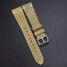 Vintage Style Nostalgic Green Italian Calf Leather Watch Strap w/ Buckle - Strapholic_錶帶工房, Rolex, IWC, Panerai, AP, Cartier, Tudor, Omega, Watch_Bands