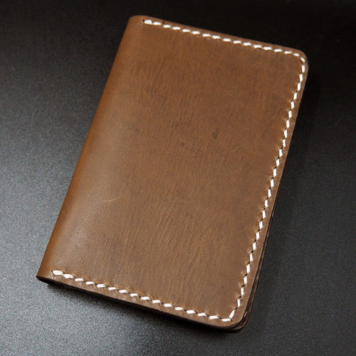 Brown Genuine Leather Passport Holder - Strapconcept_錶帶工房, Rolex_Leather, IWC_Strap, Panerai_Strap, AP_Rubber, Cartier_Leather, Tudor_Nato, Omega_Rubber, Watch_Straps
