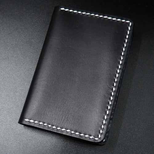 Black Genuine Leather Passport Holder - Strapconcept_錶帶工房, Rolex_Leather, IWC_Strap, Panerai_Strap, AP_Rubber, Cartier_Leather, Tudor_Nato, Omega_Rubber, Watch_Straps