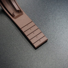 Premium Brown Rubber Watch Strap With Clasp For Rolex - Strapholic_錶帶工房, Rolex, IWC, Panerai, AP, Cartier, Tudor, Omega, Watch_Bands