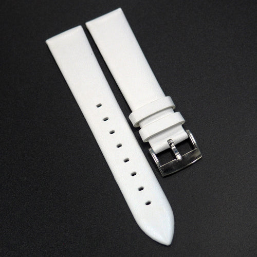 White Calf Leather Watch Strap - Strapconcept_錶帶工房, Rolex_Leather, IWC_Strap, Panerai_Strap, AP_Rubber, Cartier_Leather, Tudor_Nato, Omega_Rubber, Watch_Straps