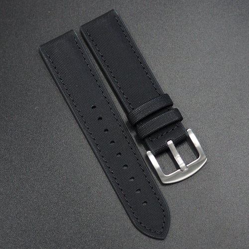 Performance Style Black Nylon Watch Strap - Strapholic_錶帶工房, Rolex, IWC, Panerai, AP, Cartier, Tudor, Omega, Watch_Bands