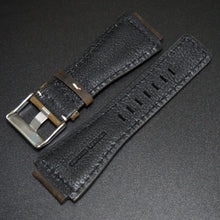 Bell & Ross Style Brown Calf Leather Watch Strap w/ Buckle - Strapholic_錶帶工房, Rolex, IWC, Panerai, AP, Cartier, Tudor, Omega, Watch_Bands