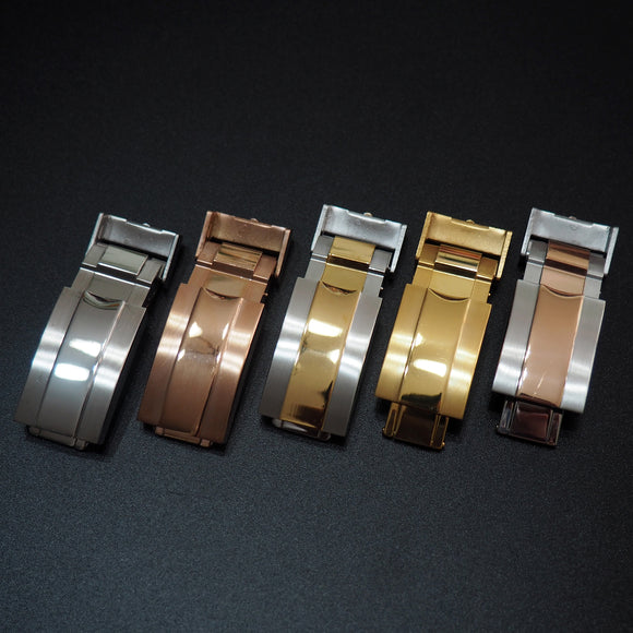 16mm Rolex Style Watch Deployment Buckle Clasp Replacement - Strapholic_錶帶工房, Rolex, IWC, Panerai, AP, Cartier, Tudor, Omega, Watch_Bands