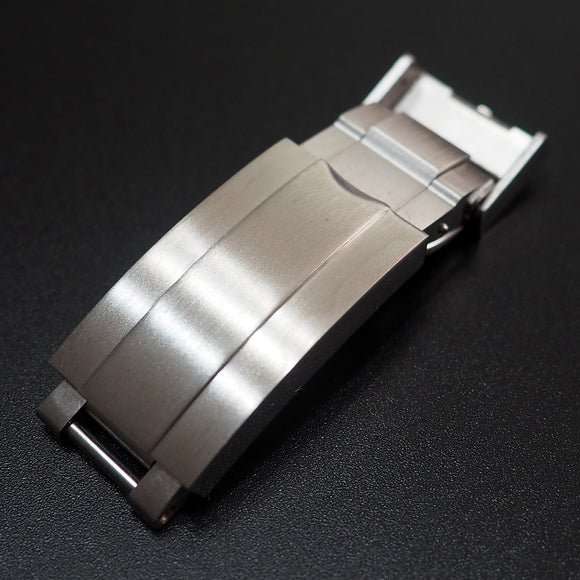 Rolex Deepsea Style Brushed Stainless Steel Deployment Buckle Clasp Replacement - Strapholic_錶帶工房, Rolex, IWC, Panerai, AP, Cartier, Tudor, Omega, Watch_Bands