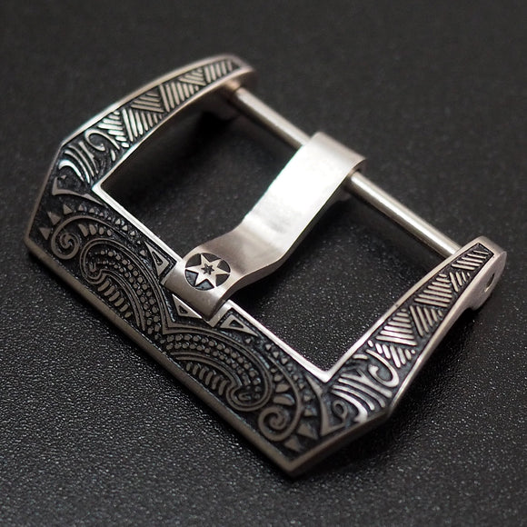 22mm Panerai Style Stainless Steel Tang Buckle Replacement - Strapholic_錶帶工房, Rolex, IWC, Panerai, AP, Cartier, Tudor, Omega, Watch_Bands