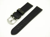 Army Green Italian Calf Leather Watch Strap w/ Buckle - Strapholic_錶帶工房, Rolex, IWC, Panerai, AP, Cartier, Tudor, Omega, Watch_Bands