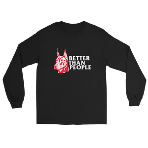 Meaningless Ritual Streetwear Tough Doberman Illustration Better Than People T-Shirt