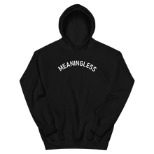 Load image into Gallery viewer, Arched Typography Meaningless Ritual 90s inspired Hoodie