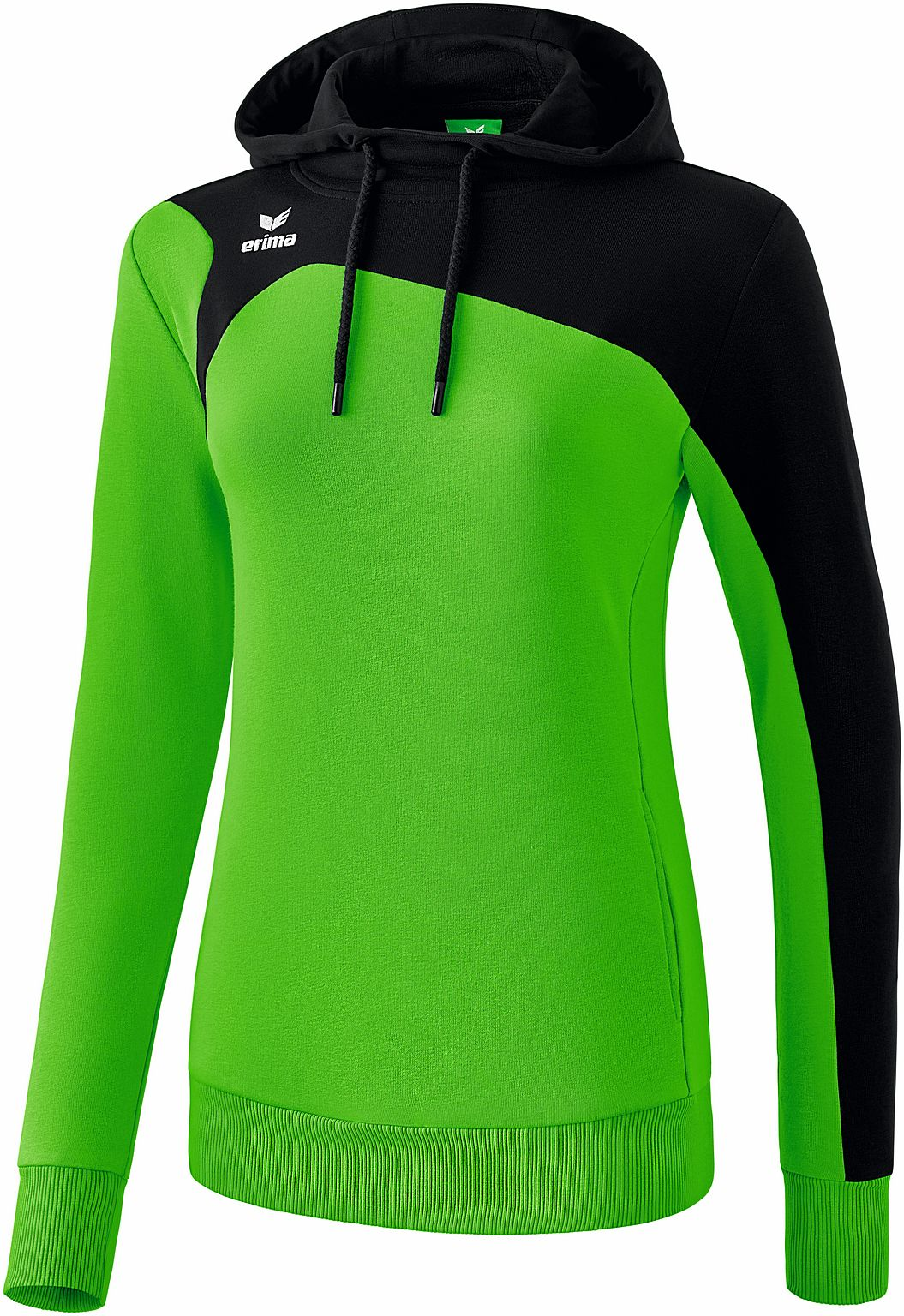 Club 1900 2.0 sweatshirt met capuchon green/zwart