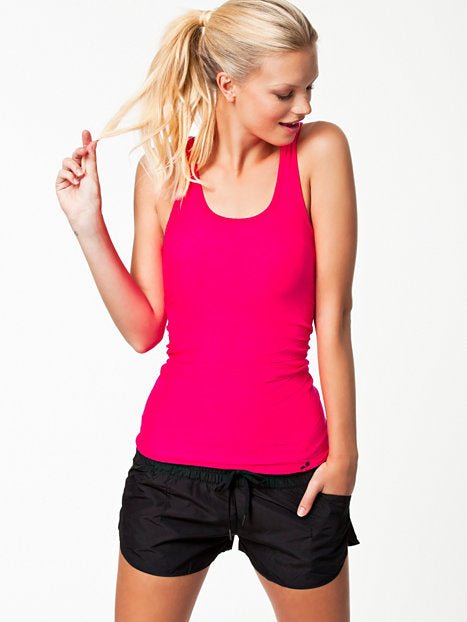 Singlet-PLAY HELEN SEAMLESS TOP MAGENTA BUZZ