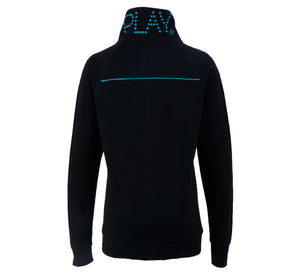 Cardigan-PLAY TRINE TRAINING SWEAT BLACK