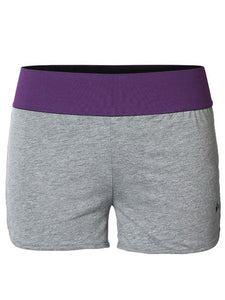 Short-PLAY TRINE TRAINING SWEAT LIGHT GREY MELANGE