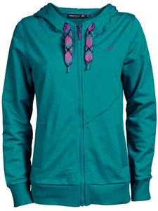 Hoody-PALY VAL SWEAT TILE BLUE