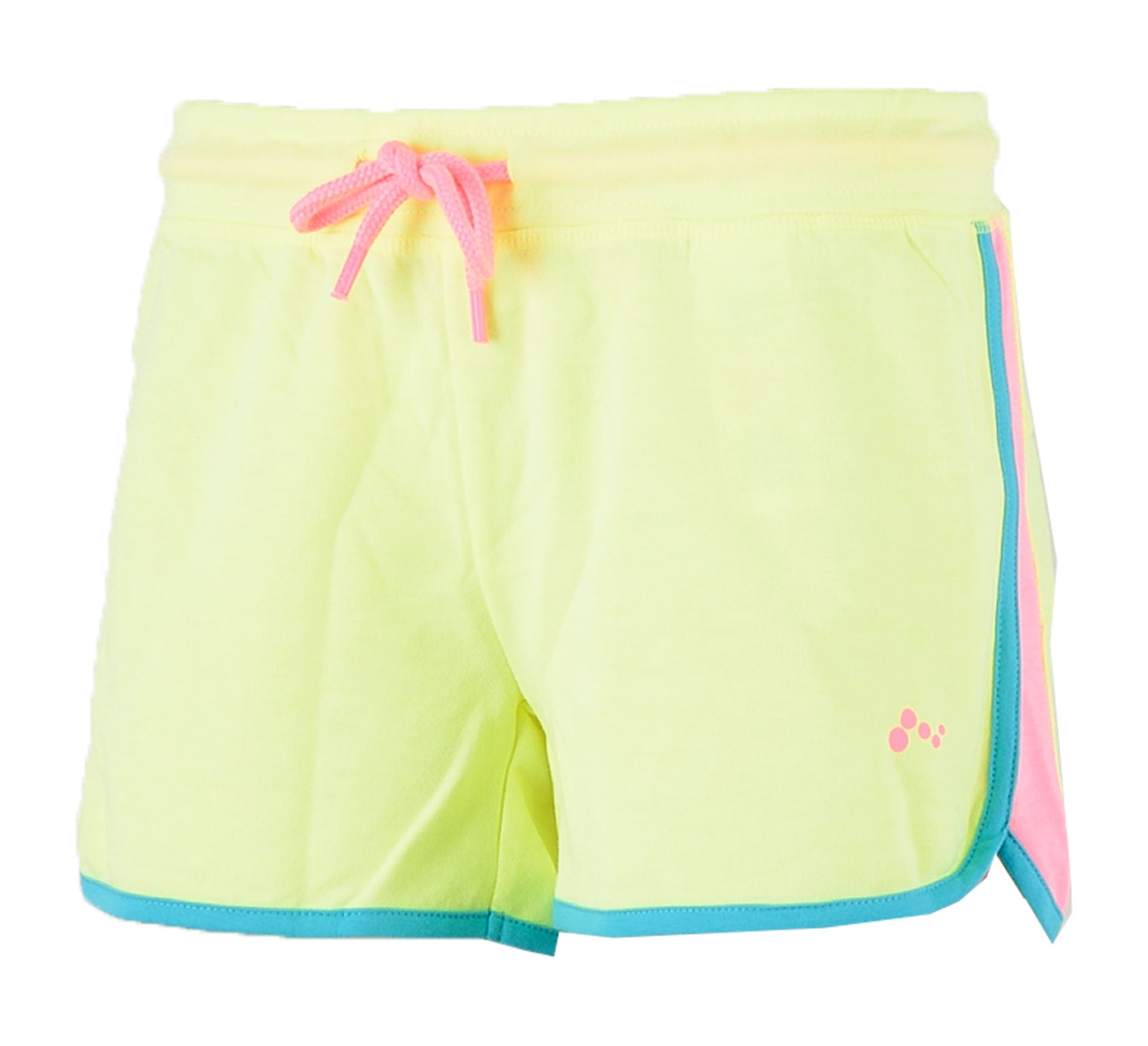 Short-PLAY ASLI SWEAT SHORTS neon yellow