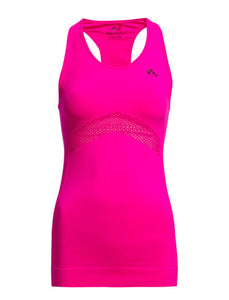Singlet-CHRISTINE SEAMLESS SL TOP PINK GLO