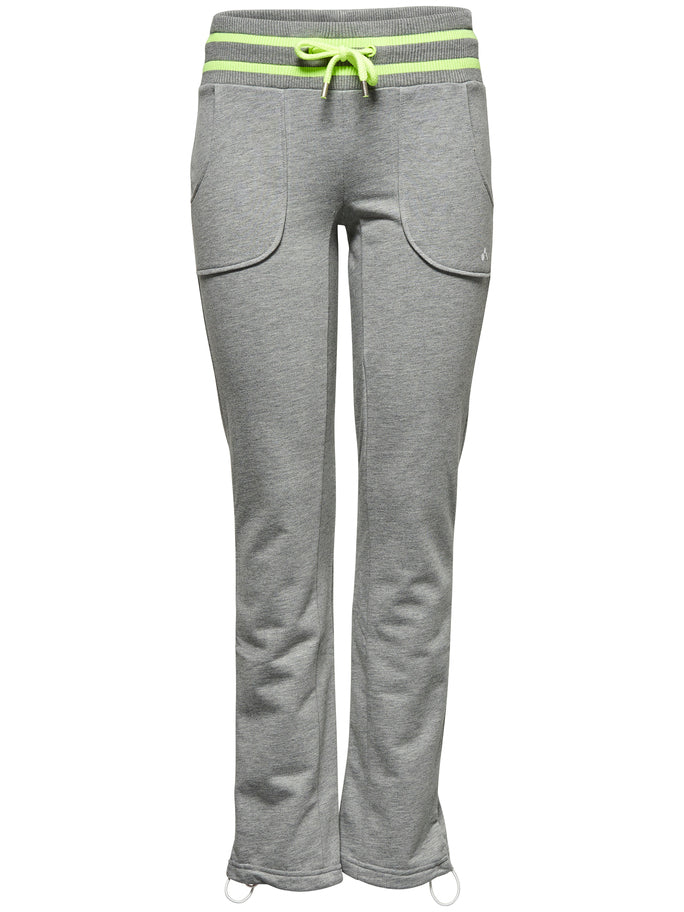 Pant-Drew sweat pant light grey melange