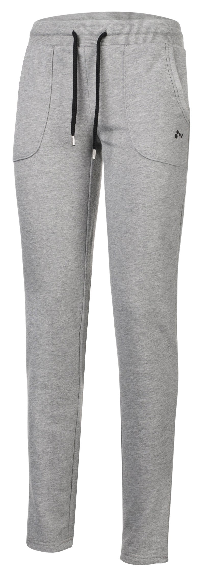 Pant-GERTRUDE SWEAT PANT LIGHT GREY MELANGE