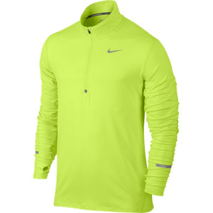 NIKE DRI-FIT ELEMENT HALF ZIP VOLT