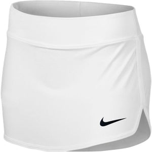 Girls' Nike Tennis Skirt WHITE/BLACK