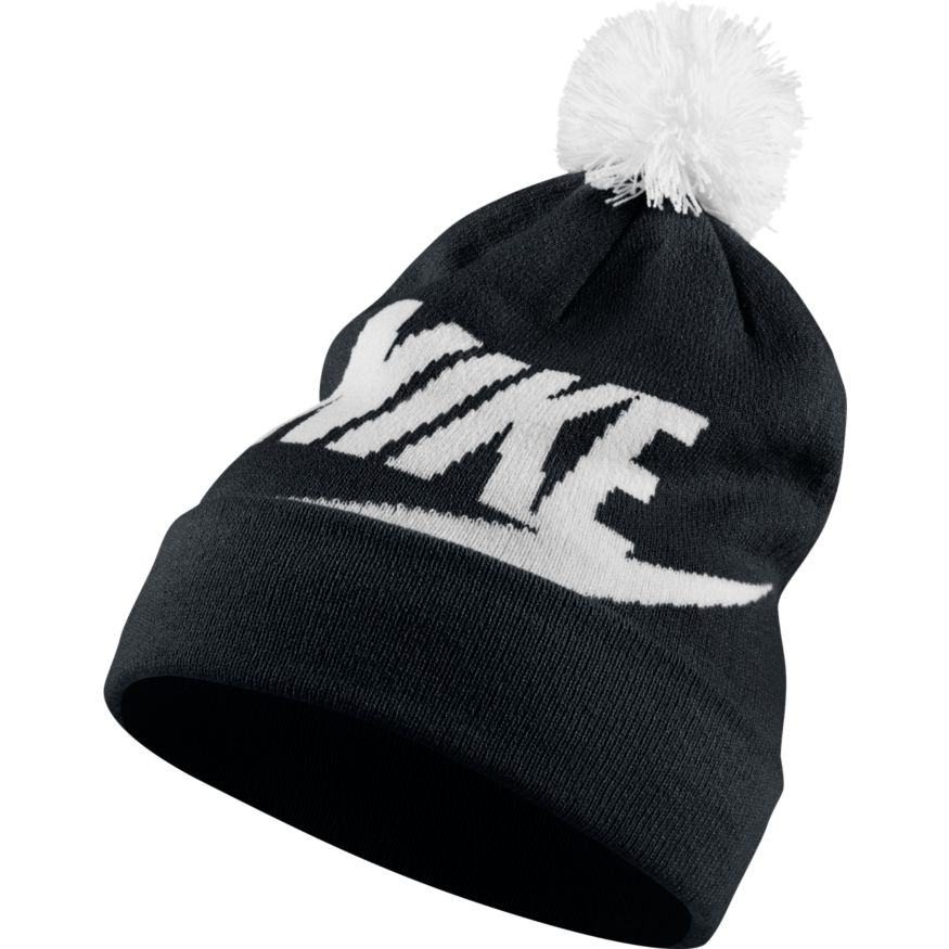 W NSW BEANIE BLACK/WHITE/WHITE