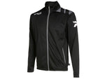 TRAINING JACKET BLACK-GREY