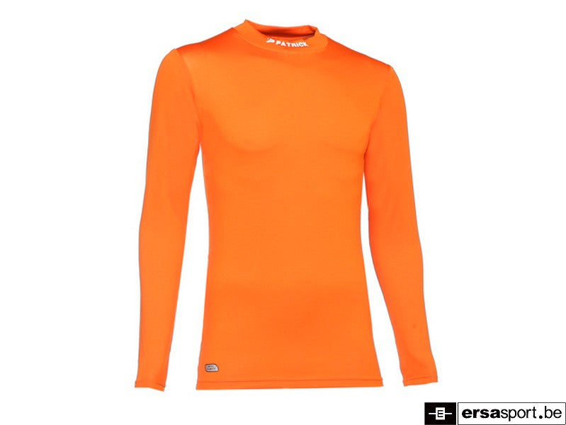 SKIN SHIRT LS TURTLE NECK oranje