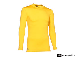 SKIN SHIRT LS TURTLE NECK geel