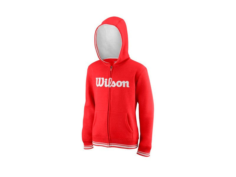 Team Script FZ hoody junior red