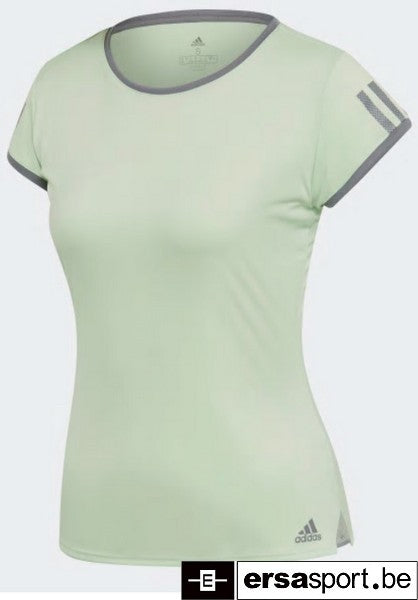 CLUB 3 STRIPE TEE GREEN