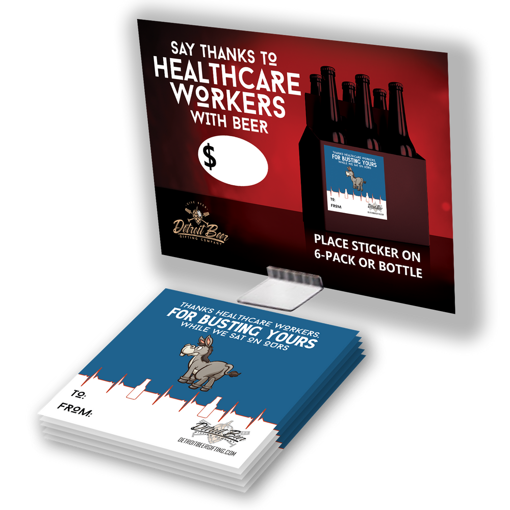 Beer for Healthcare Heroes - Sticker Retail Kit