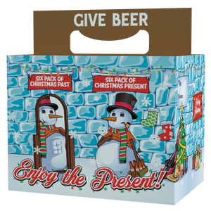 """Snowman With a Six Pack"" Gift Pack"