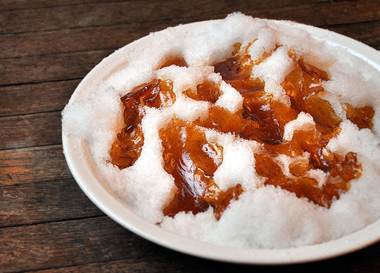 A Tasty Treat: Maple Snow Taffy