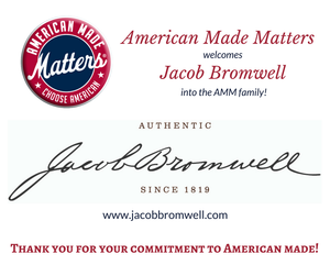 Jacob Bromwell Partners With American Made Matters