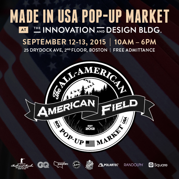 Meet Us At American Field in Boston