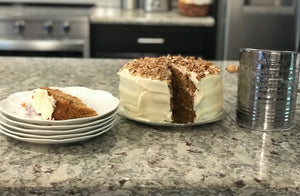 Yummy Carrot Cake Recipe