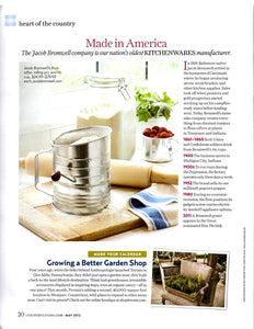 By Jiminy! We're in Country Living Magazine!