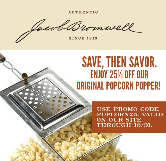 Good to the Last Pop: Celebrate Popcorn Poppin' Month with Jacob Bromwell!