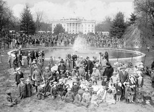 The History of the White House Easter Egg Roll