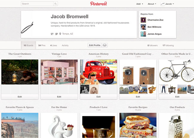 Get Pinning With Jacob Bromwell