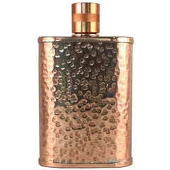 Hammered Copper Flasks
