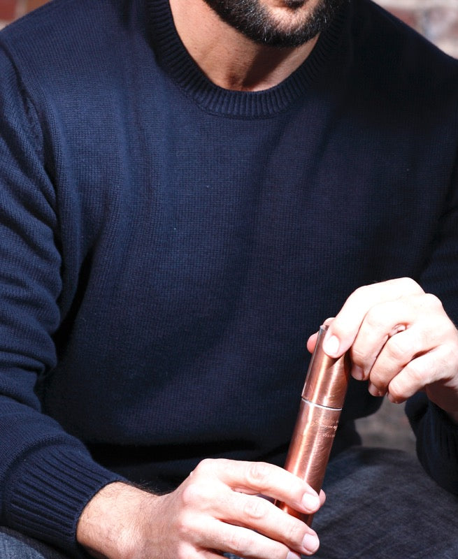 Copper Cigar Case