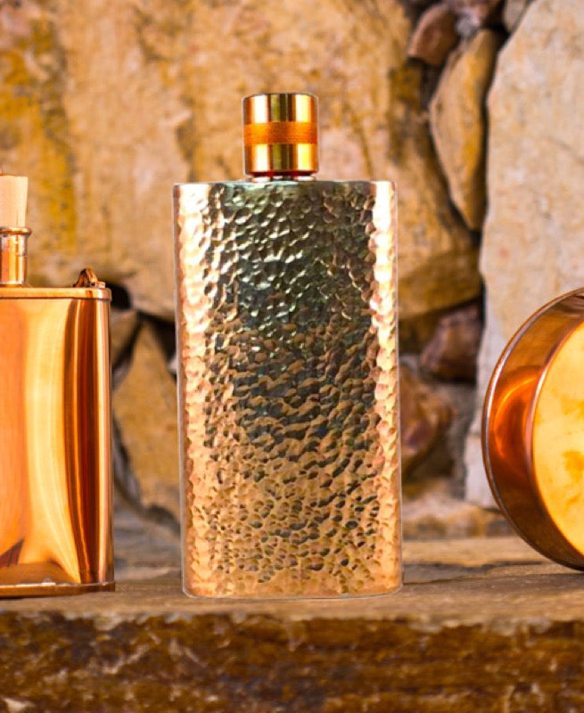 Hammered Copper Flask