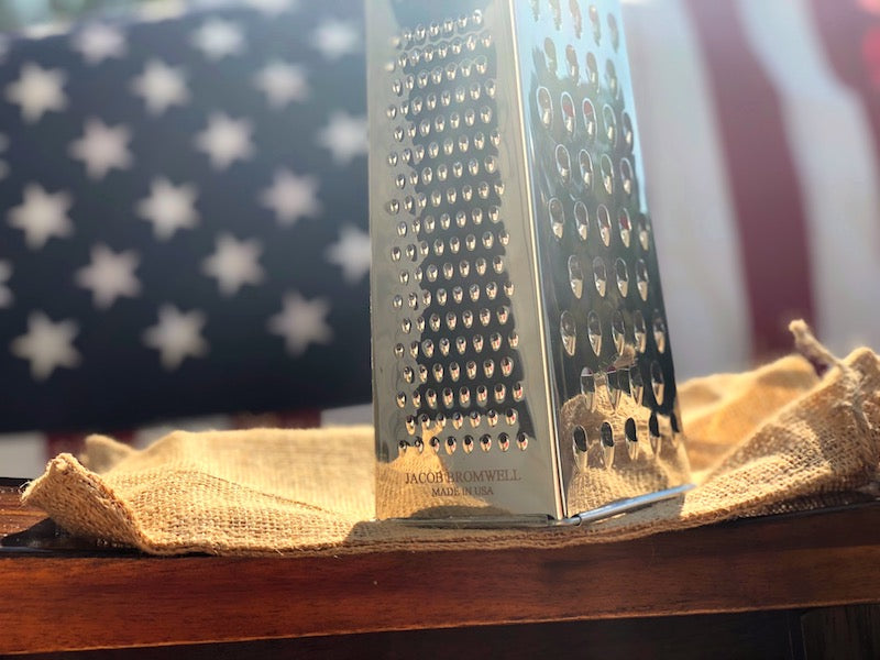 ENGRAVING ON CHEESE GRATER - JACOB BROMWELL
