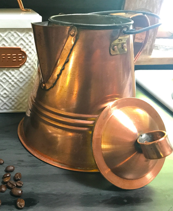 Lewis and Clark Coffee Pot