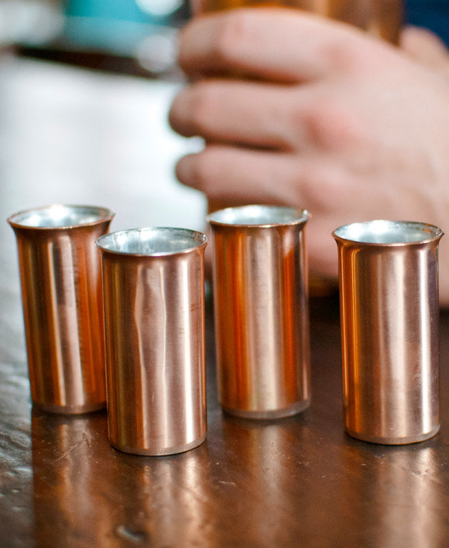 Copper Shot Glasses