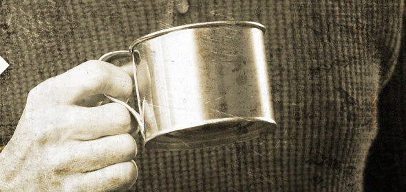 CIVIL WAR TIN CUPS